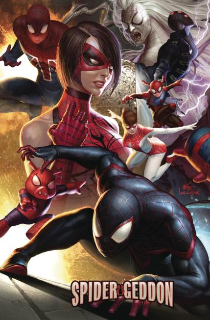 Spider-Geddon #0 Cover B Variant In-Hyuk Lee Connecting Cover