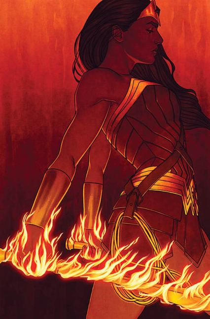 Wonder Woman Vol 5 #54 Cover B Variant Jenny Frison Cover