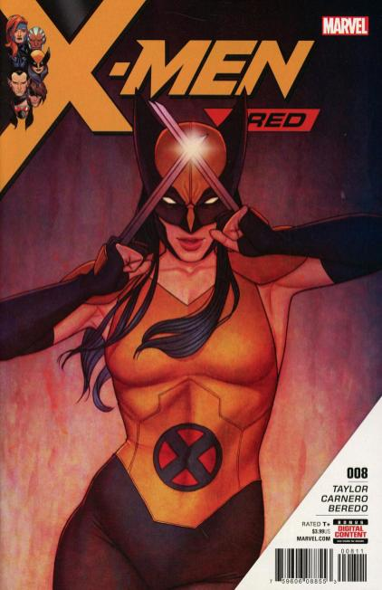 X-Men Red #8 Cover A Regular Jenny Frison Cover