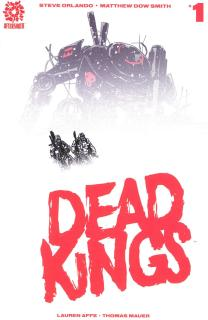 Dead Kings #1 Cover A Regular Matthew Dow Smith Cover