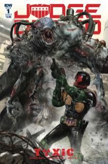 Judge Dredd Toxic #1 Cover B Variant John Gallagher Cover