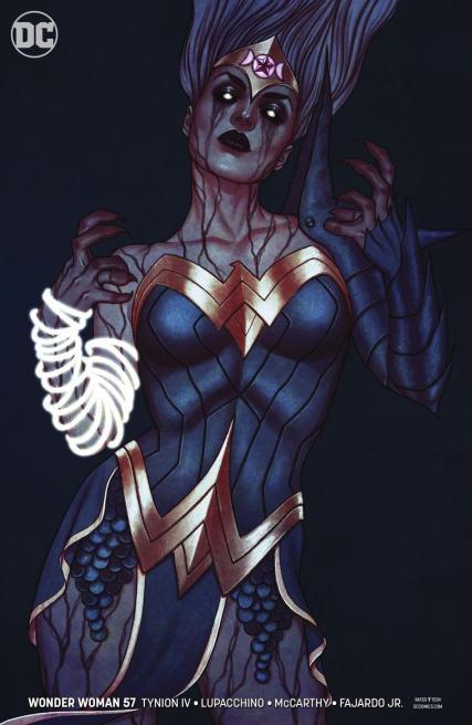 Wonder Woman Vol 5 #57 Cover B Variant Jenny Frison Cover
