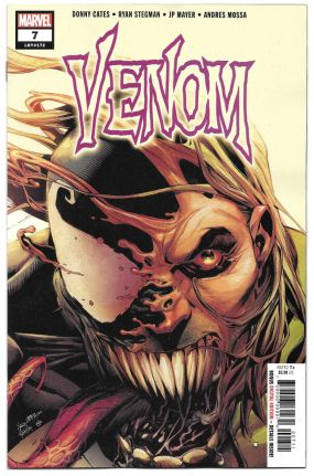 venom #7 secret tongue variant