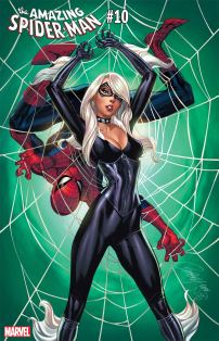 Amazing Spider-Man Vol 5 #10 Cover C Variant J Scott Campbell Black Cat Cover
