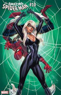 Amazing Spider-Man Vol 5 #10 Cover C Variant J Scott Campbell Black Cat Cover