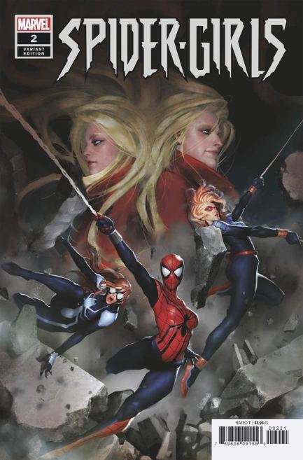 Spider-Girls #2 Cover B Incentive Gang-Hyuk Lim Variant Cover
