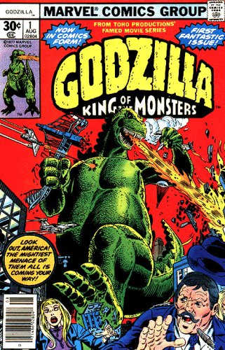 Godzilla Vol 1 Issue 1