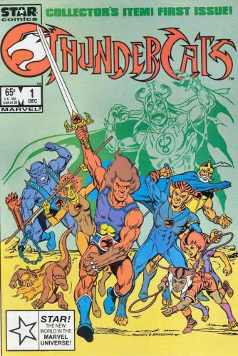 Thundercats Vol 1 Issue 1