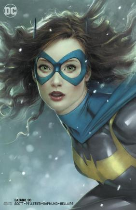 Batgirl Vol 5 #30 Cover B Variant Joshua Middleton Cover