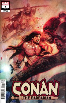 Conan The Barbarian Vol 4 #1 Cover M Incentive Bill Sienkiewicz Variant Cover
