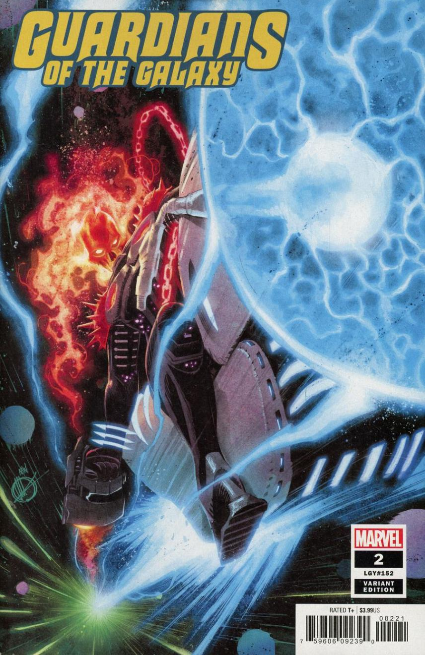 Guardians Of The Galaxy Vol 5 #2 Cover B Incentive Matteo Scalera Variant Cover