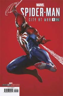 Spider-man city at war granov variant