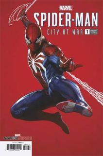 Spider-man city at war granov variant