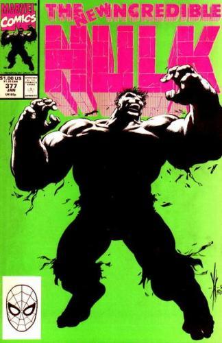 Incredible Hulk 377 Cover