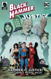 Black Hammer Justice League 1 lemire var