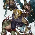 WINNER ANNOUNCED : Scott's Collectables TMNT #100 Inhyuk Lee Virgin Variant