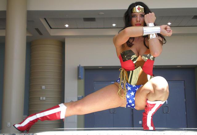 Margie Cox as Wonder Woman