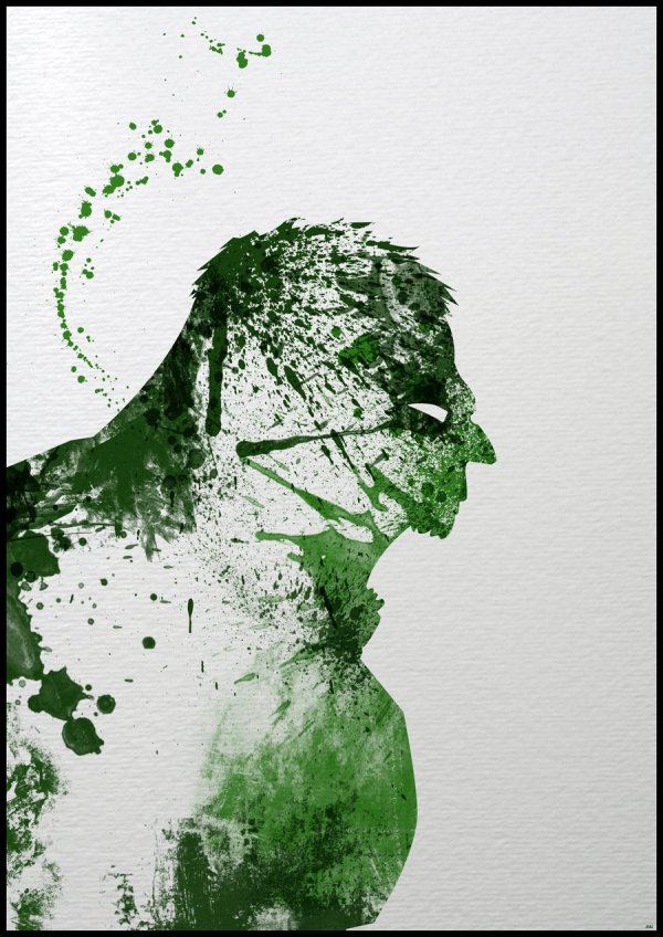 Paint Splatter Superheros