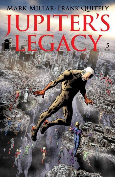 Jupiter's Legacy TPB 1 (Image) - ComicBookRealm.com