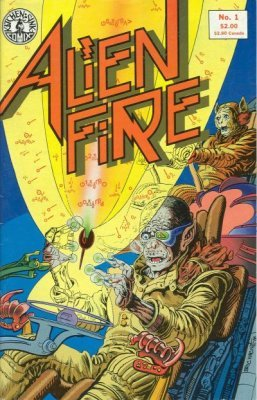 Image result for alien fire comic kitchen sink