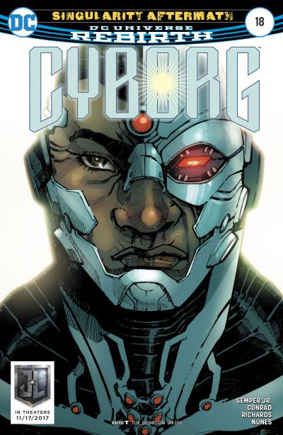 Cyborg 18 Reviews 2017 at ComicBookRoundUpcom