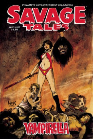 Image result for vampirella: savage tales