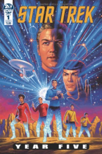 Image result for star trek year 5 issue 1