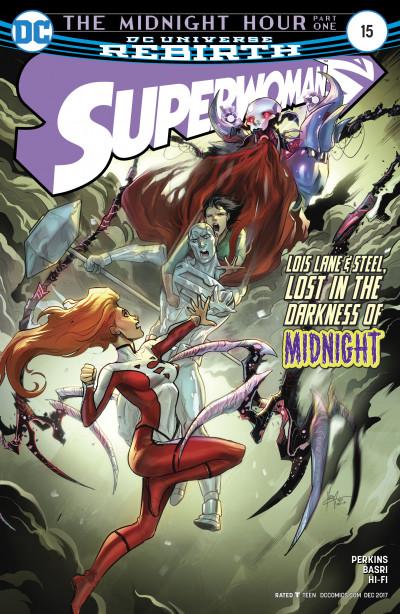 Superwoman #15 Reviews (2017) at ComicBookRoundUp.com