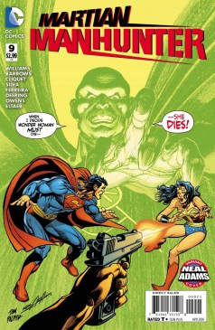 Martian Manhunter 9 Neal Adams
