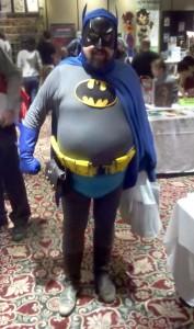 Classic batman cosplay