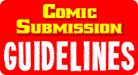 Comic Submission Guidelines Logo Widget Graphic by Grant Shortner