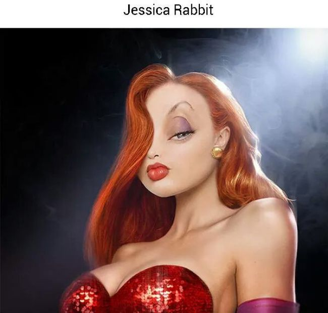2. Jessica Rabbit