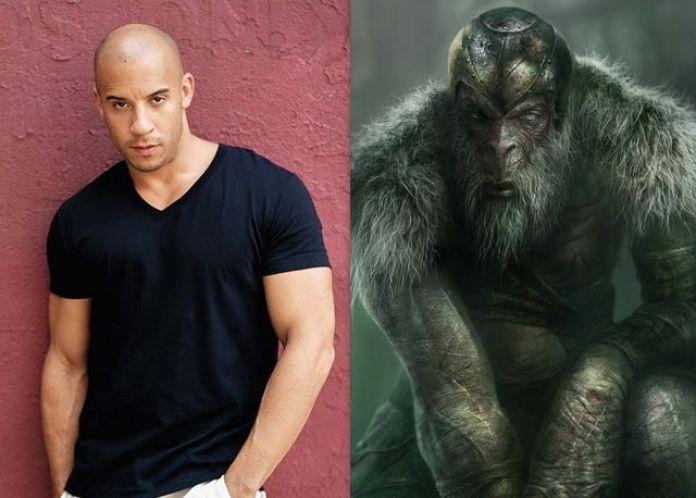 Vin Diesel as Monkian
