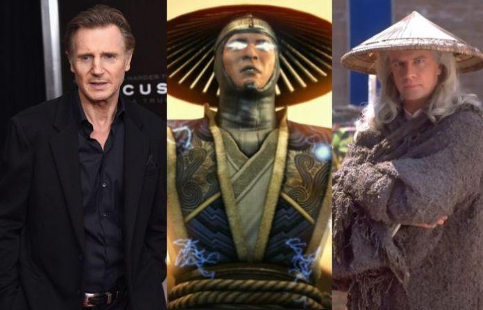 Liam Neeson as Rayden - Mortal Kombat movie
