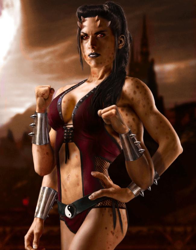 SIndel Mortal Kombat Women