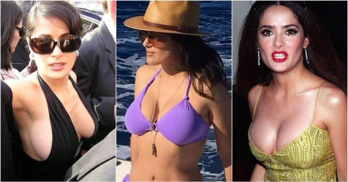 57 Salma Hayek Sexy Pictures Will Make You Addicted To Her Beauty