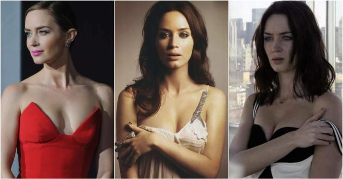 63 Emily Blunt Sexy Pictures Show Her God-Like Beauty