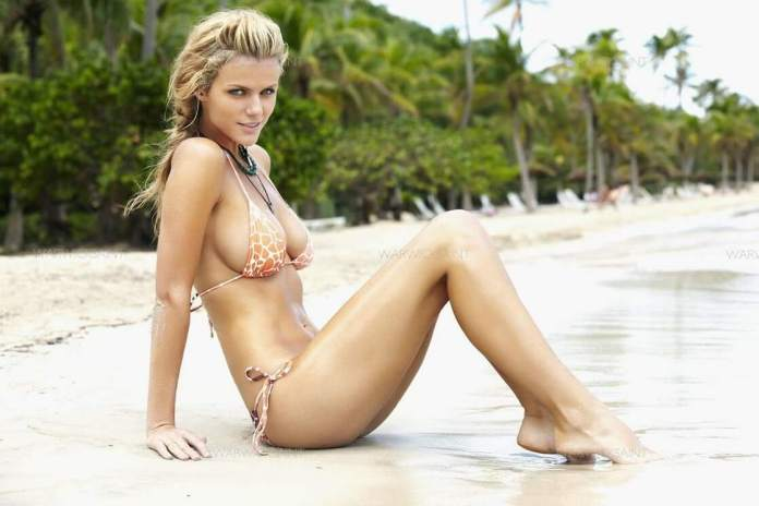 brooklyn decker feet