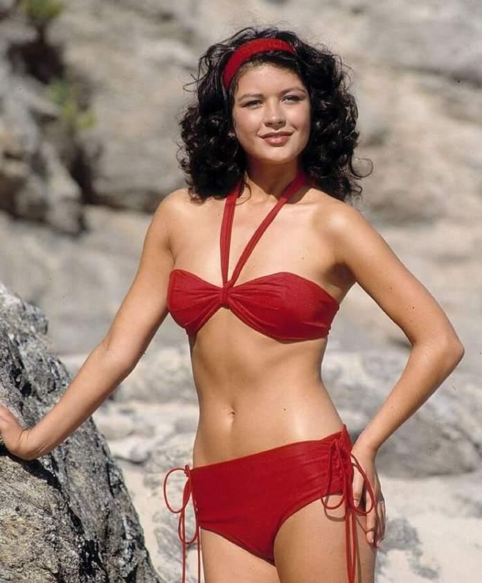 catherine zeta-jones bikini