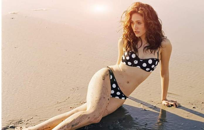 emmy rossum bikini