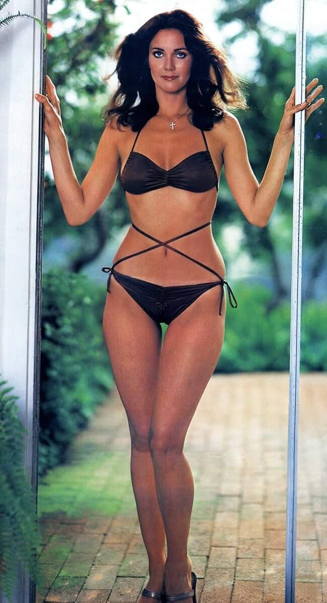 lynda carter bikini