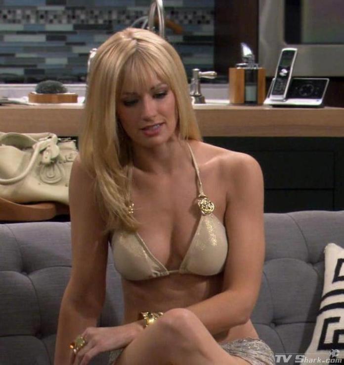 Beth Behrs hot look