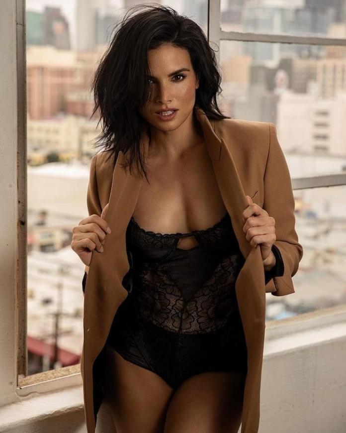 Katrina Law sexy look