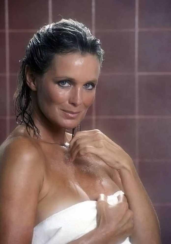Linda Evans sexy wet look