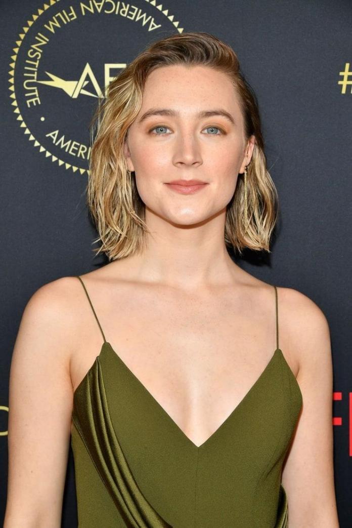 Saoirse Ronan hot look
