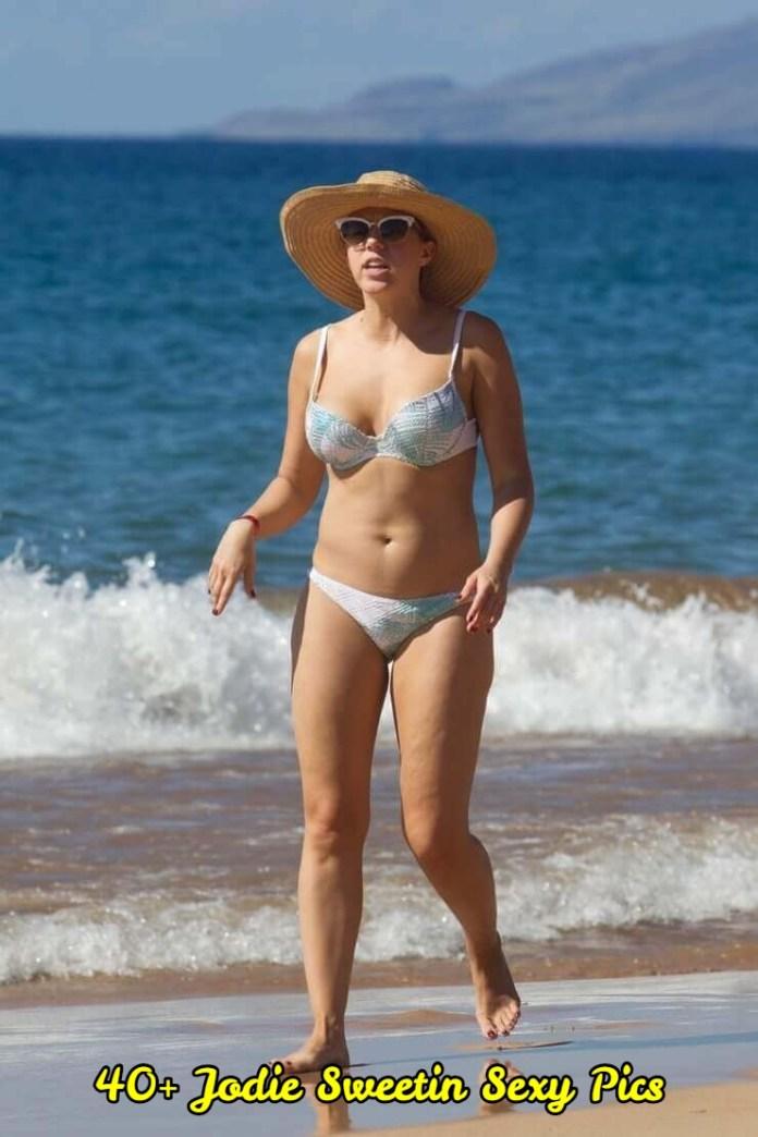 jodie sweetin white bikini