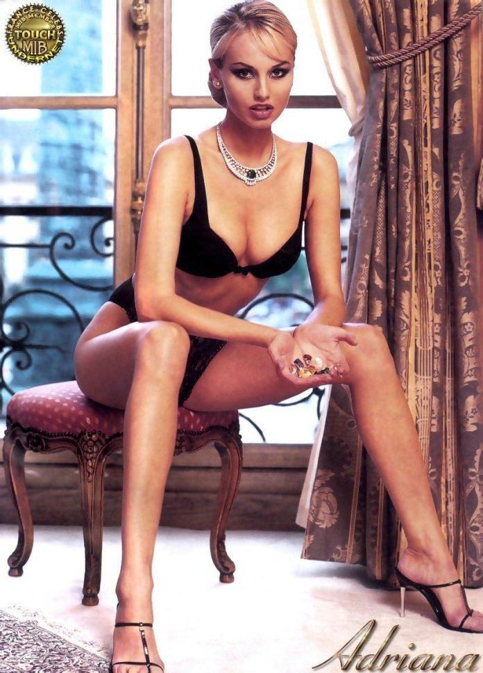 Adriana Karembeu sexy photo