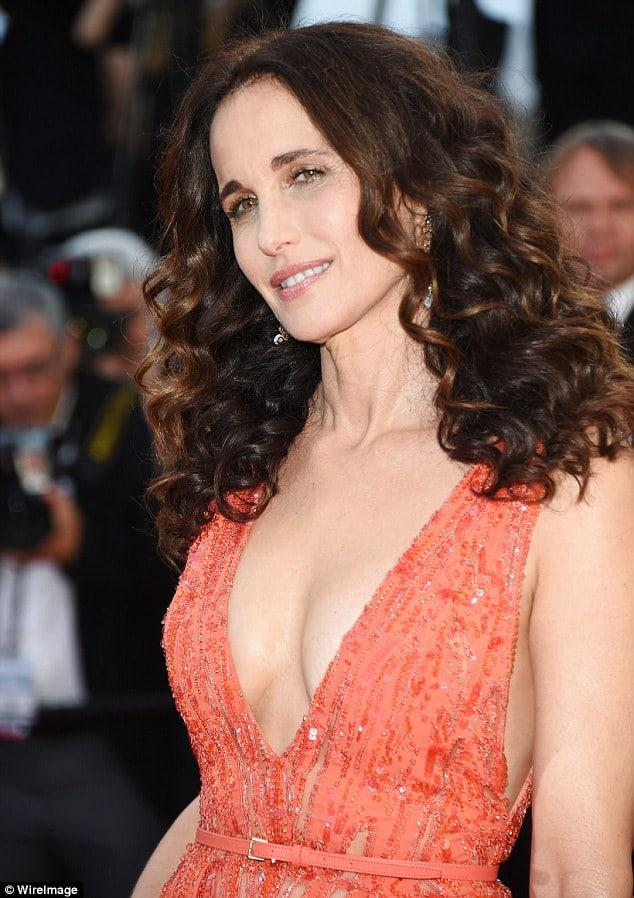 Andie MacDowell sexy pics