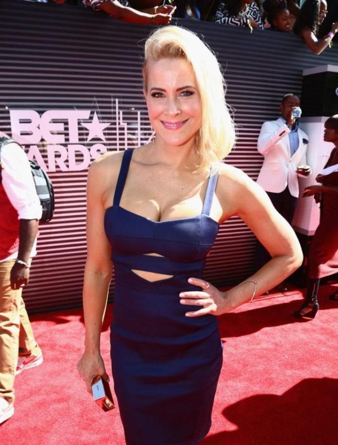 Brittany Daniel hot look