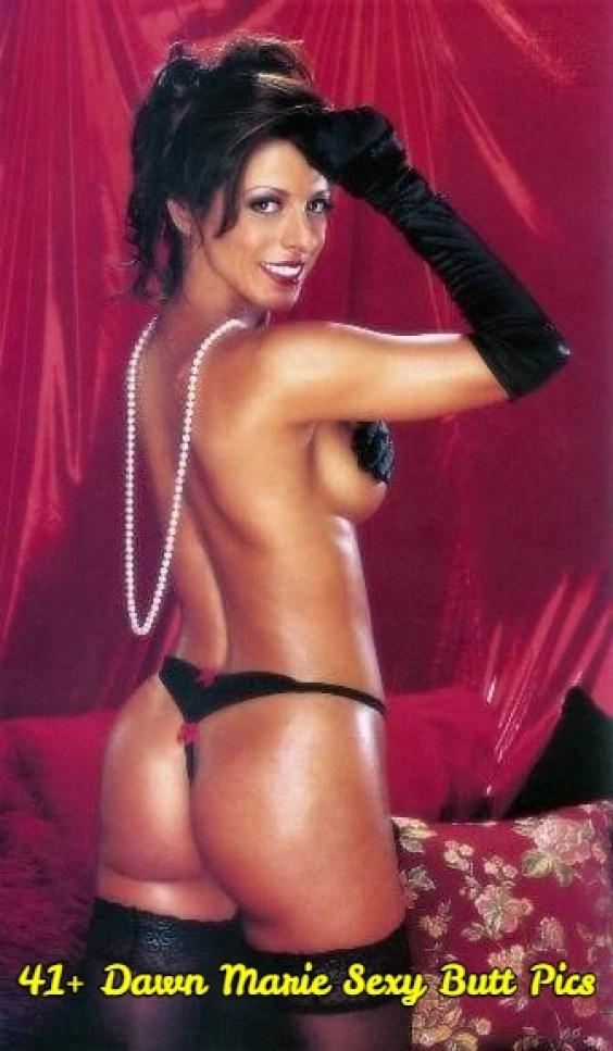 Dawn Marie sexy butt pics